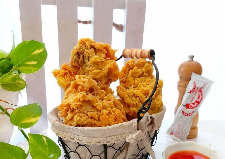 Resep Memasak Crispy Fried Chicken Ala KaeFCi Yang Enak