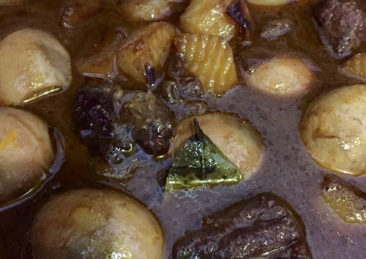 Begini Cara Membuat Semur daging telur dan kentang Anti…