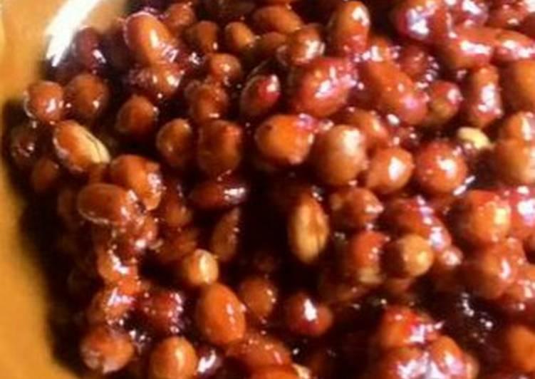 Kacang Pedas Manis