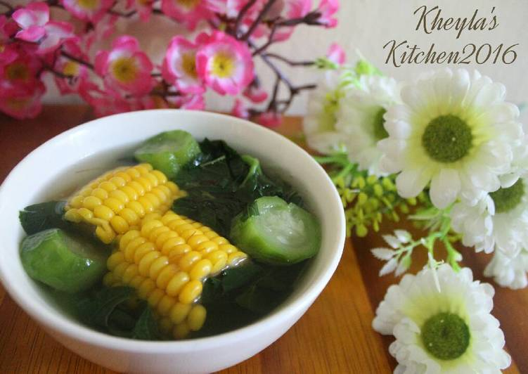 Sayur Bening Bayam Oyong super simple