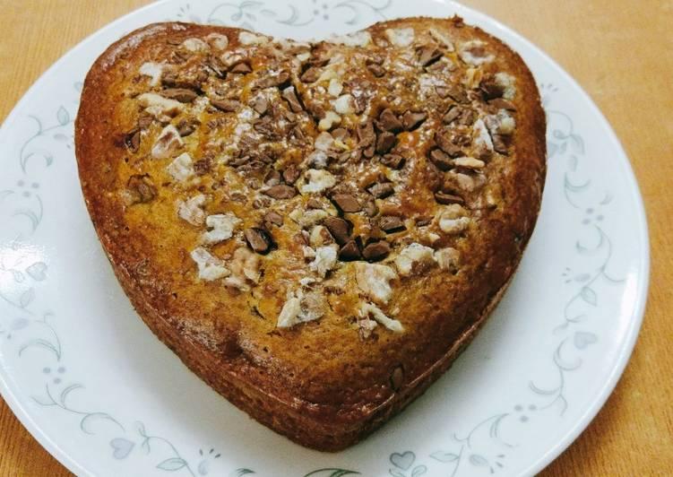 Banana walnut cake 🎂