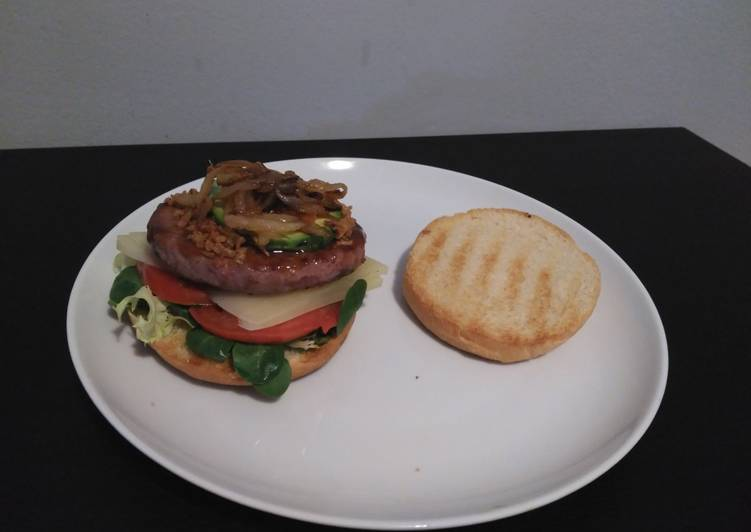 Recipe: Yummy Full compact burger