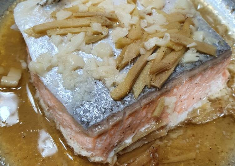 Recipe: Flavorful Steamed Salmon