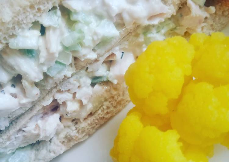 Discover How to Elevate Your Mood with Food The BESt Chicken Salad Sandwich