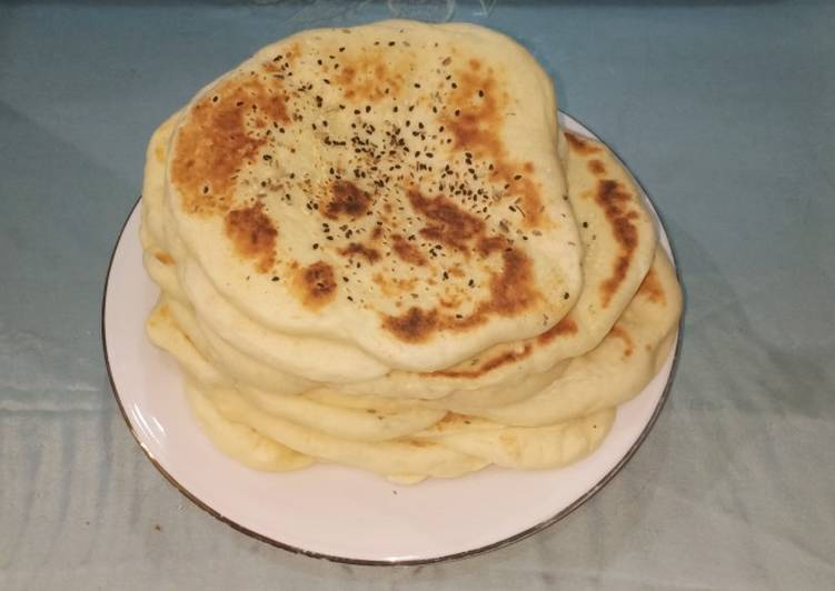 Turkish bread / naan bread metode autolyse (ga cape menguleni)