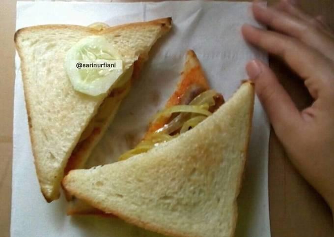 Omar Sandwich (onions-margarine)