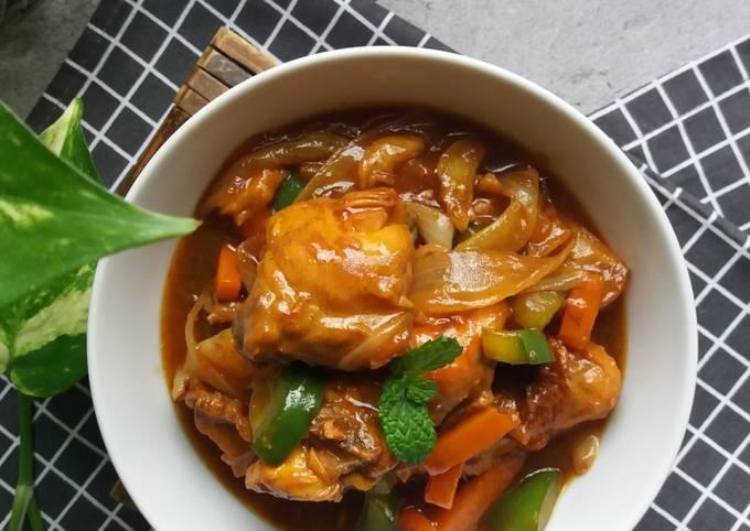Ayam Masak Merah Ala Thai