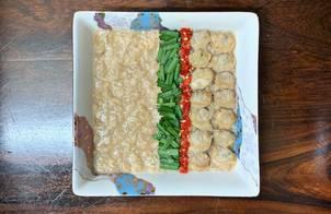 Cháo yến mạch nghêu (Ngao) nấu củ cải trắng [Eat clean - Lose weight]