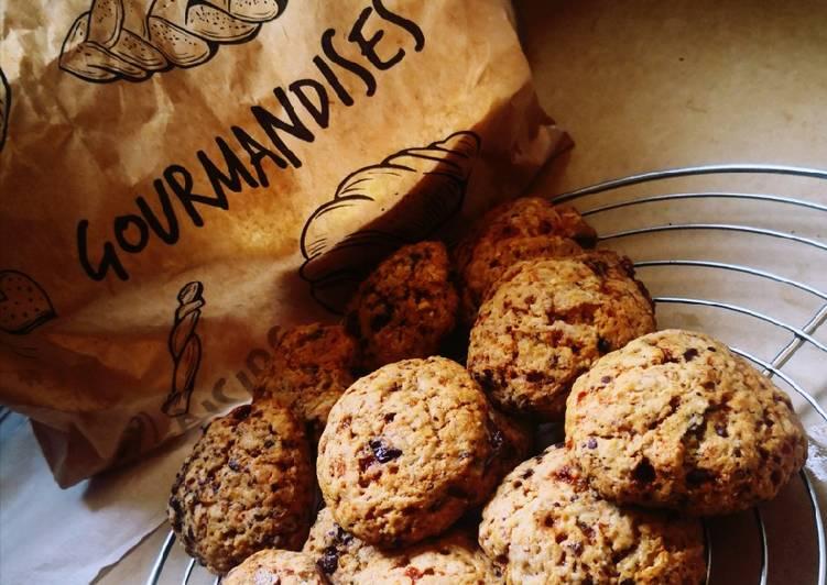 Cookies chocolat sans oeufs
