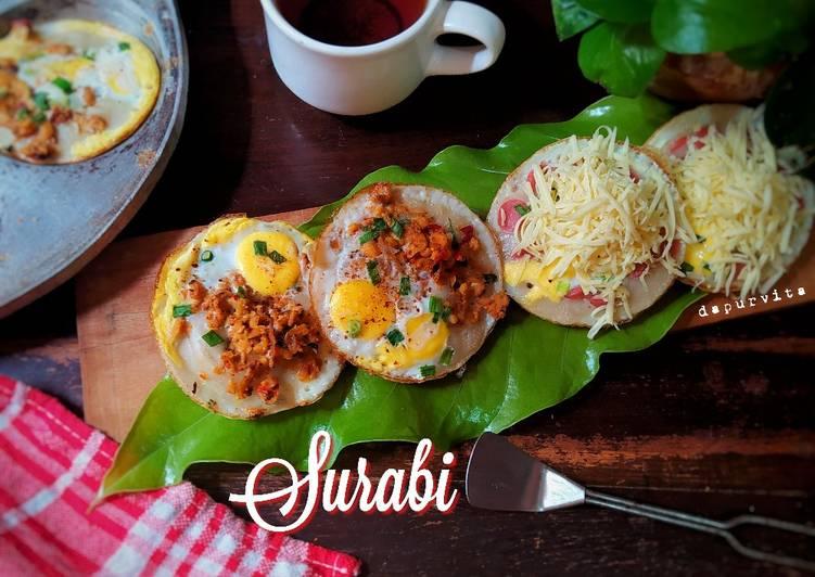 Resep Surabi Topping Telur khas Bandung