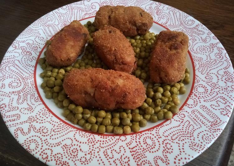 Comment Servir Croquettes de poulet