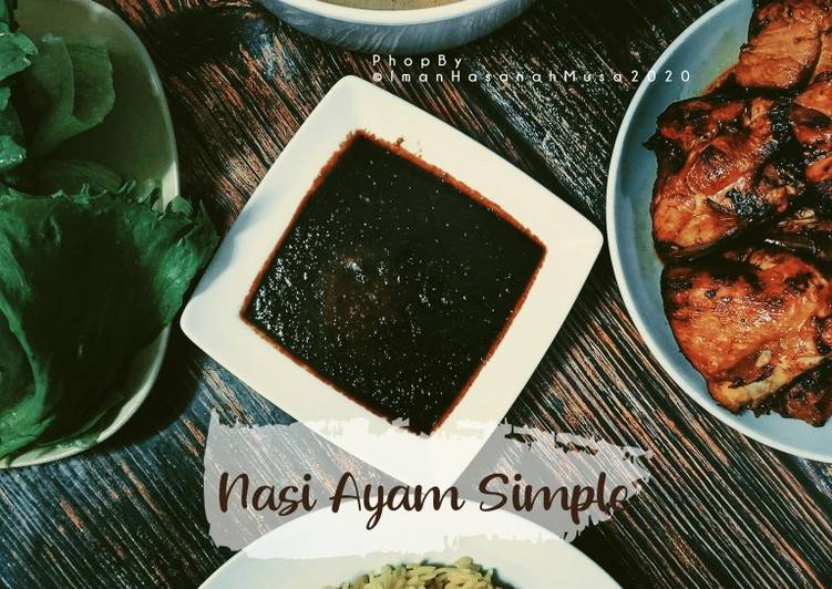 Nasi Ayam simple - velavinkabakery.com