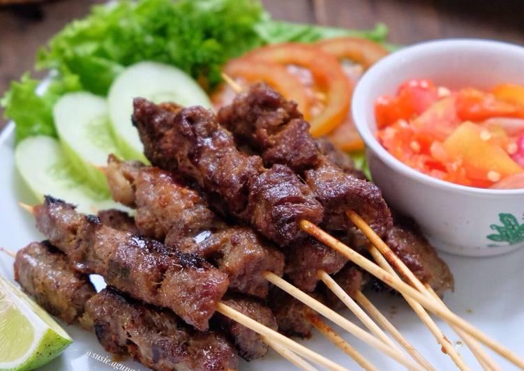 Resep Sate Maranggi (Sapi) oleh Susi Agung - Cookpad