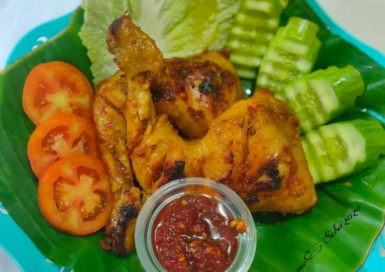 Cara memasak Ayam Taliwang  yang Sedap