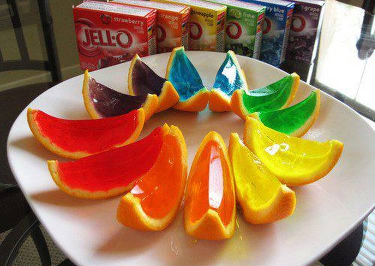 Recipe of Super Quick Homemade Jello Shot Slices