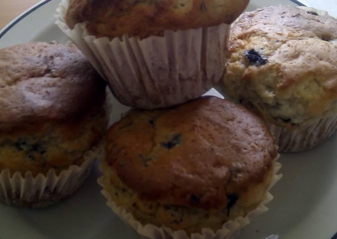 Recipe: Perfect blueberry muffins