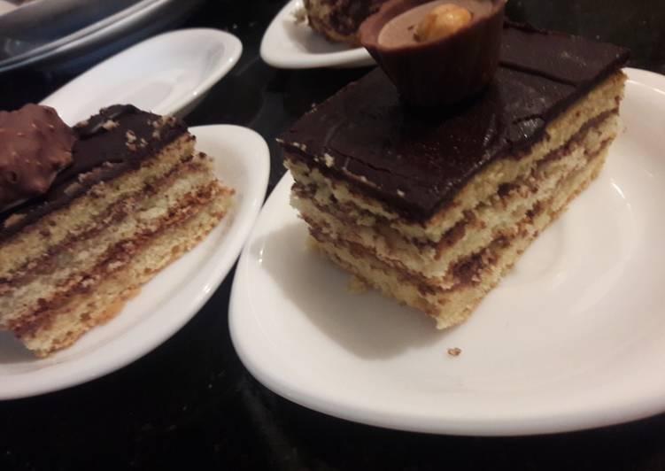 Comment faire Faire Délicieuse Gâteau opéra