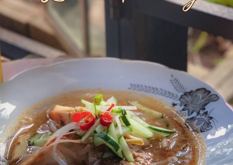 masak laksa penang  buat laksa penang resepi bonda kerana rasanya  sedap Resepi Ikan Rebus Asam Keping Enak dan Mudah