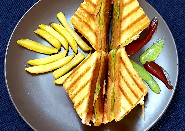 Easiest Way to Cook Tasty Chicken club sandwich