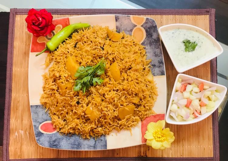 Patato rice with raita and salad, Are Superfoods Actually As Good As They are Made Out To Be?