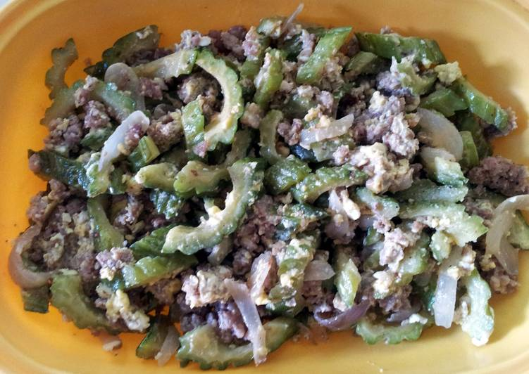 Sauteed Bitter Melon (Ginisang Ampalaya)