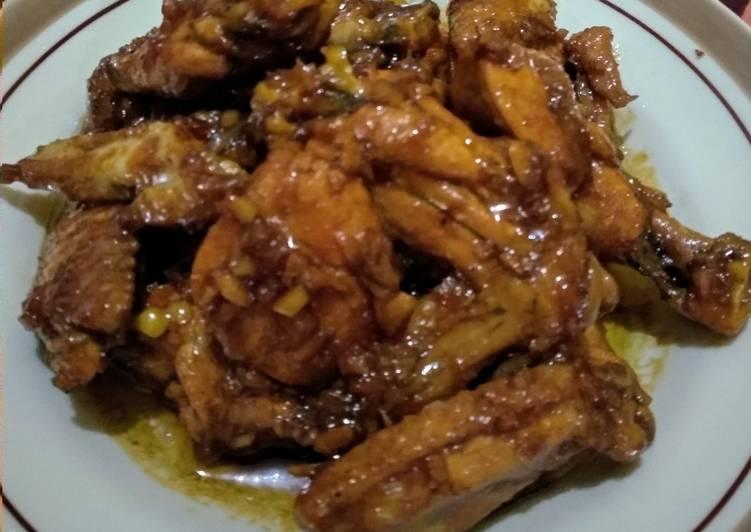Ayam mentega kecap