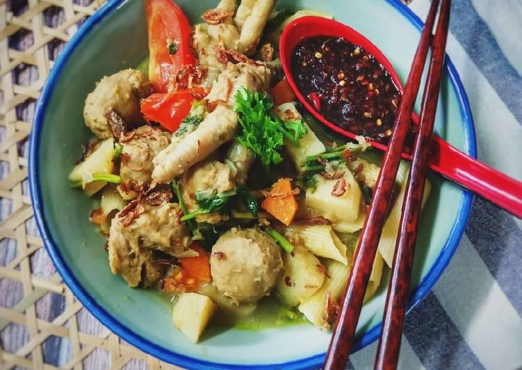 Pasta Sup Kaki Ayam - velavinkabakery.com
