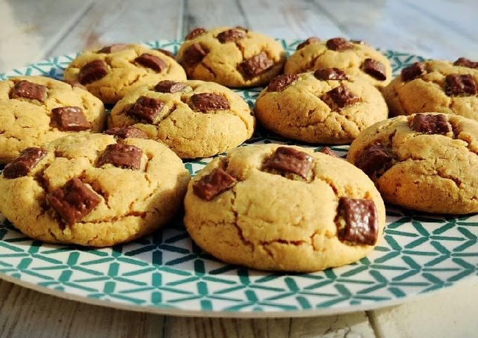 Cookies pâte d'arachide