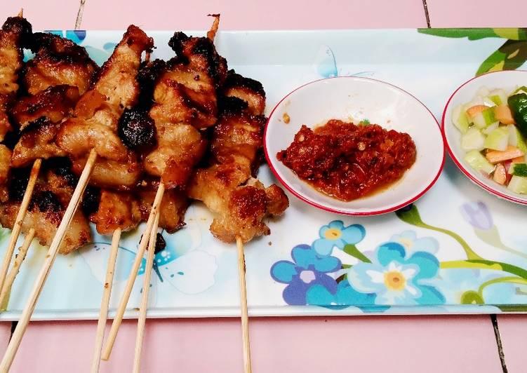 Sate Ayam Teflon🥰