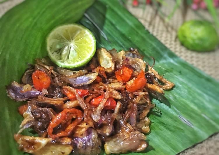Bagaimana Membuat Sambel Embe /sambel bawangnya orang Bali yang Enak Banget