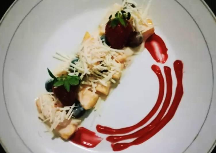 Salad Buah Simple - cookandrecipe.com