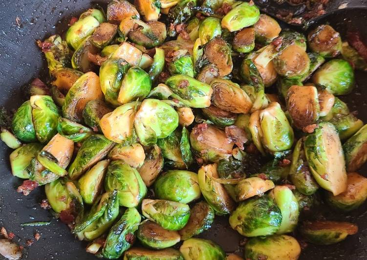 How to Cook Yummy Candied Brussels sprouts