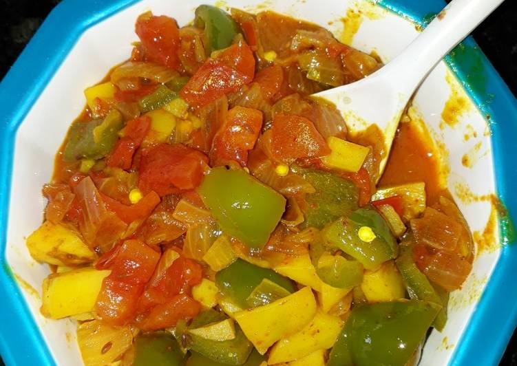 How 5 Things Will Change The Way You Approach Aloo and capsicum curry