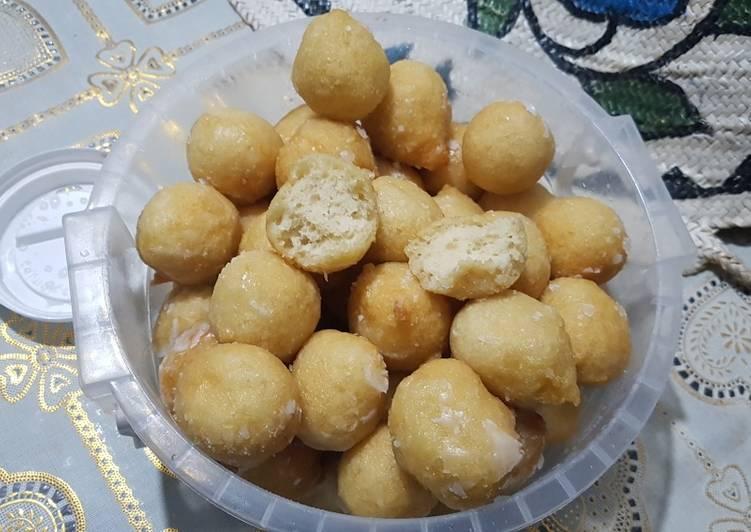 Recipe of Favorite Kalimati(luqaimat)