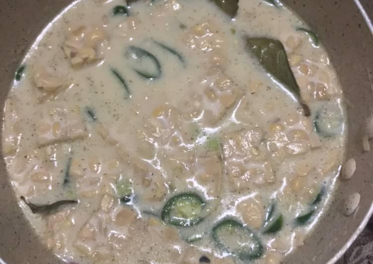 Resep Sayur Tempe Cabe Ijo (fiber creme) Yang Mudah Dijamin Ngiler