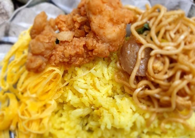 Nasi kuning magiccom