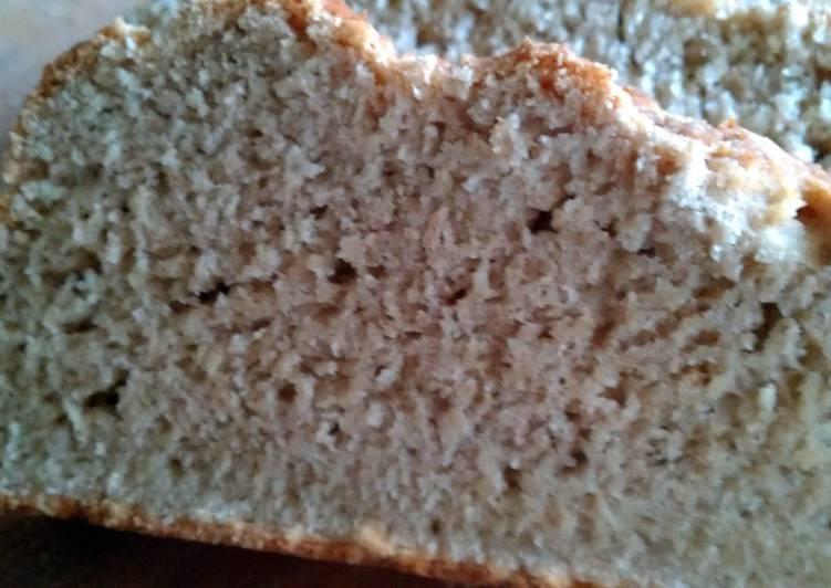 Recipe of Homemade GF White Bread - no knead!