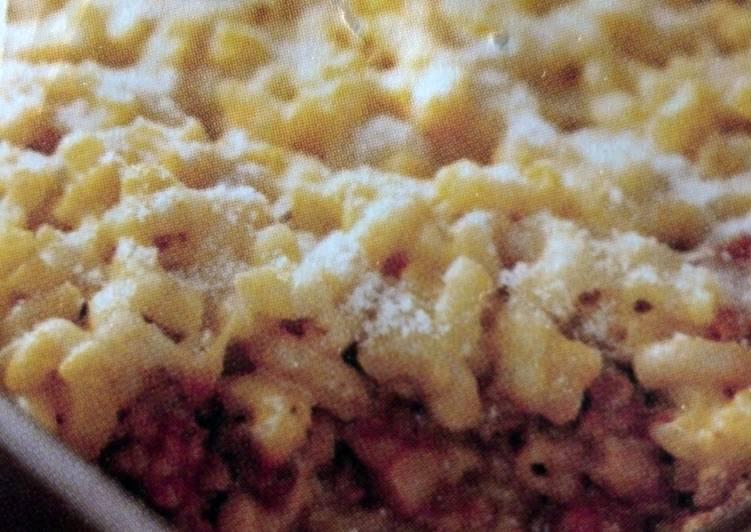 Cheesy Cheddar Lasagna