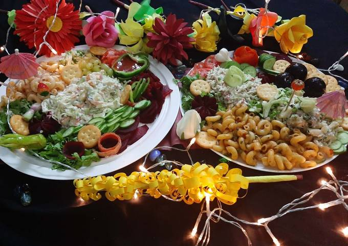 How to Make Appetizing Salad bar
