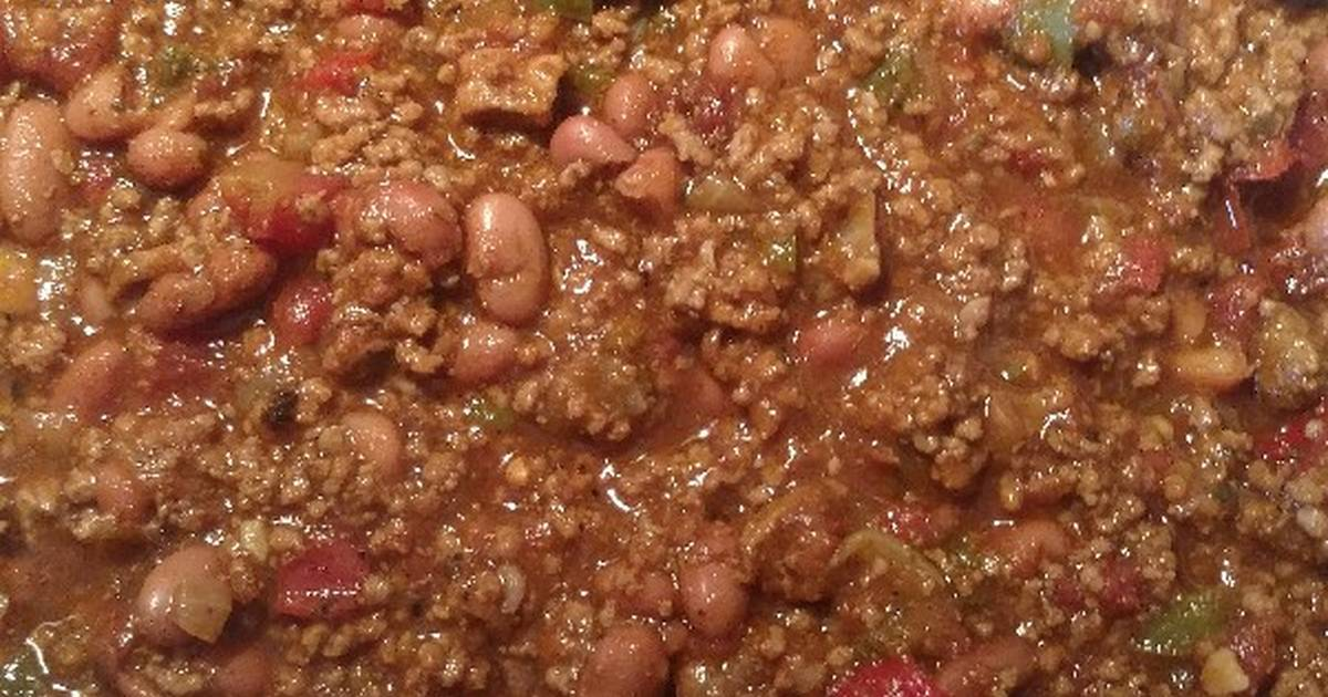 My Homemade Chili Recipe By Welderwoman Cookpad