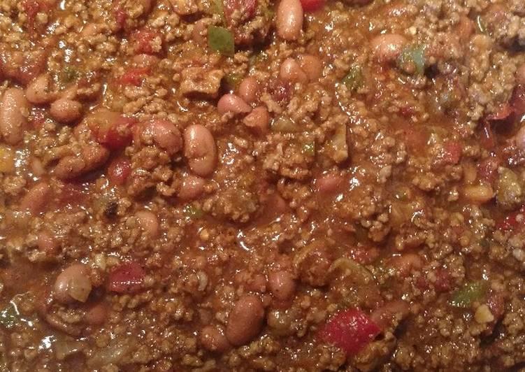 My Homemade Chili