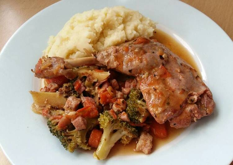 Foods That Can Make Your Mood Better Vickys Braised Duck Legs with Mixed Vegetables, GF DF EF SF NF
