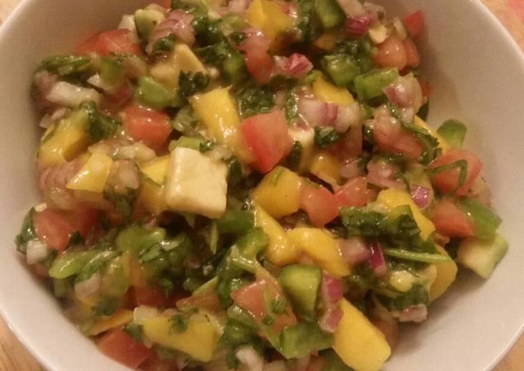 Steps to Prepare Homemade Mango Salsa