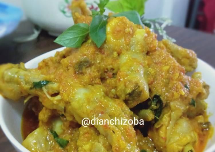 Resep Ayam Woku Kemangi Pedas Tanpa Ribet