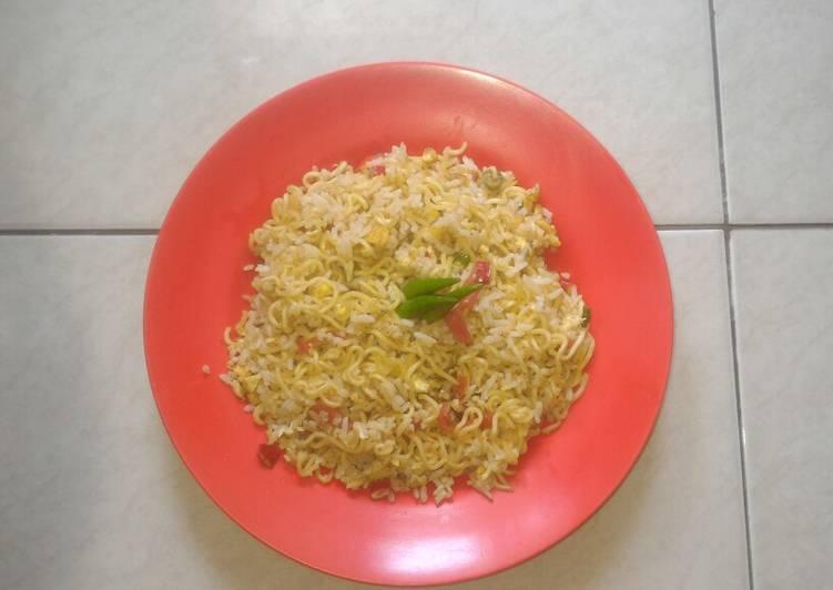 Nasi Mawut Indomie(rasa soto)