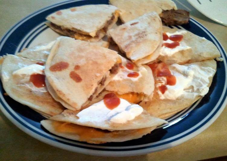 Recipe of Speedy Easy Zesty Quesadillas