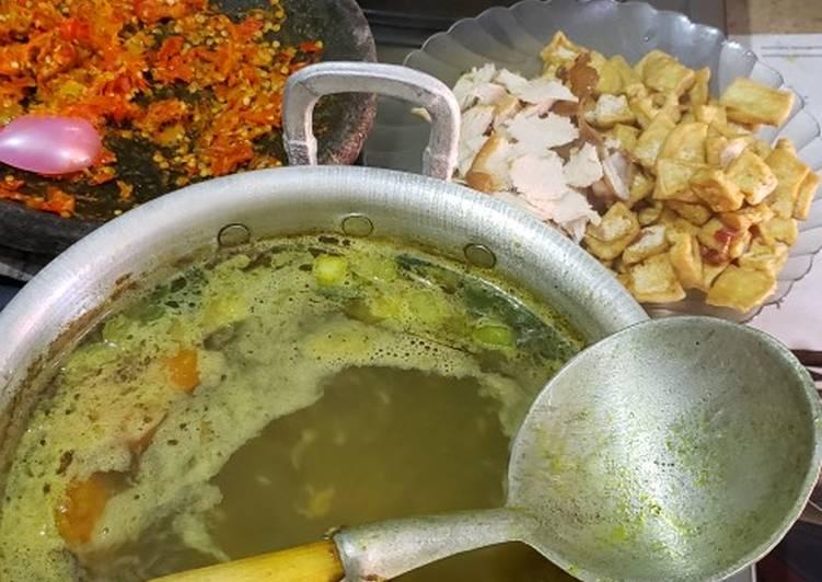 Soto Ayam/Tahu Bening