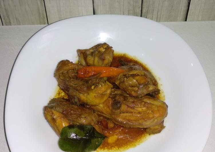 Ayam Kecap Daun Jeruk