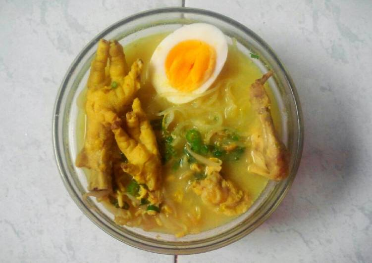 Soto Lamongan 368 cals (Food Diet)