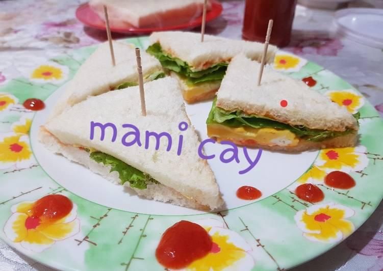 Resep Egg Sandwich Sehat Paling Joss